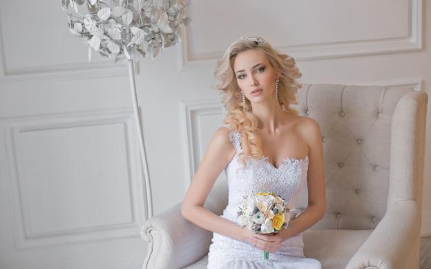 Осенние образы для невесты