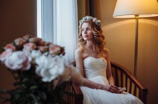 Романтичный свадебный образ
