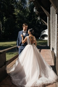Классический свадебный образ для Веры