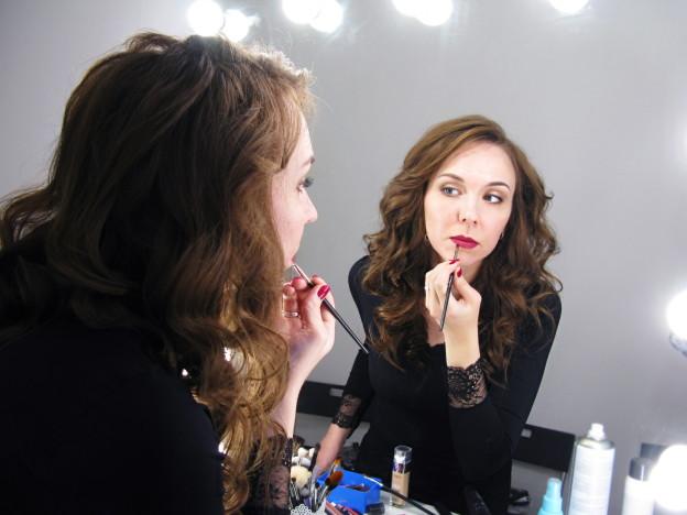 """Уроки макияжа и причёсок """"для себя"""""""