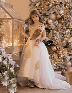 Рождественская фотосессия с совой