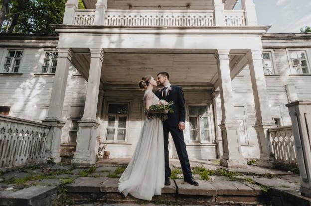 Свадьба в усадьбе Братцево