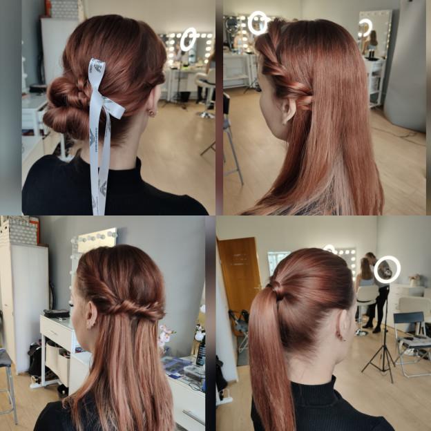 """Как проходит обучение причёскам """"для себя"""", видео"""