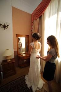 Подготовка к приезду свадебного стилиста на дом