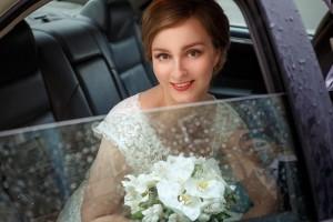 Свадебный макияж и прическа для Марии