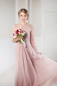 нежный образ невесты. прическа и макияж на свадьбу