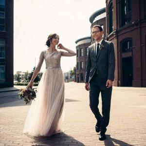 Свадебный образ с суккулентами