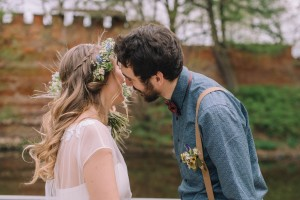 Свадебный образ в эко стиле